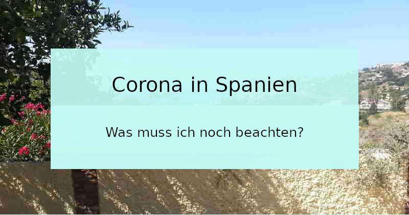 Corona in Spanien