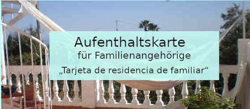 Aufenthaltskarte für Familienangehörige