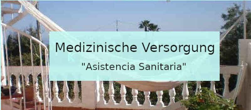 Medizinische Versorgung in Spanien