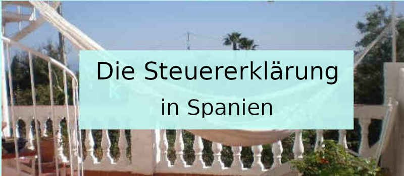 Die Steuererklärung in Spanien
