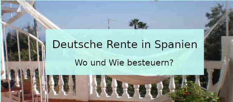 Deutsche Rente in Spanien