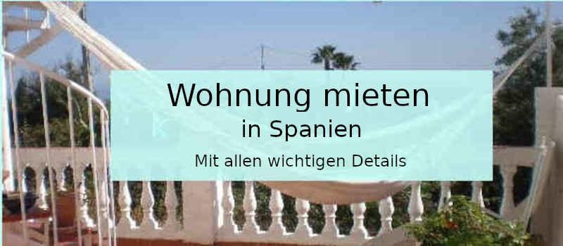 Wohnung mieten in Spanien
